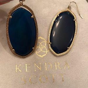 Kendra Scott Danielle Earrings   Blue Agate